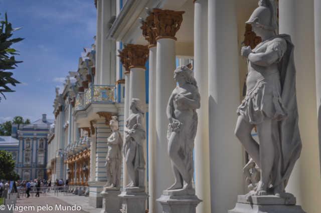 Bate-volta a Tsárskoe Sieló (Púchkin) desde São Petersburgo, Viagem pelo Mundo blog