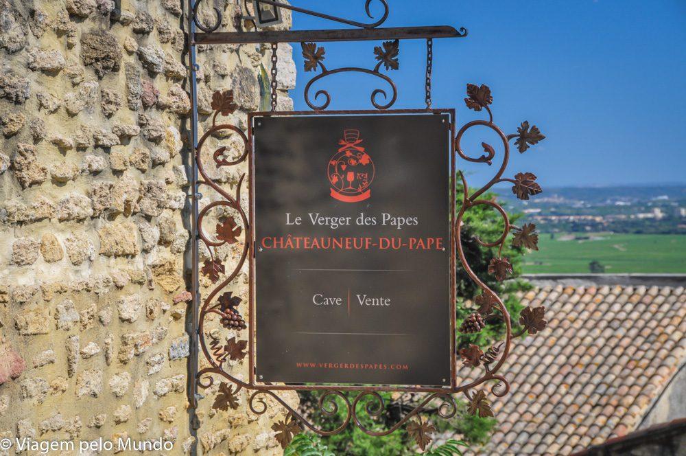 Chateauneuf-du-Pape degustação vinho