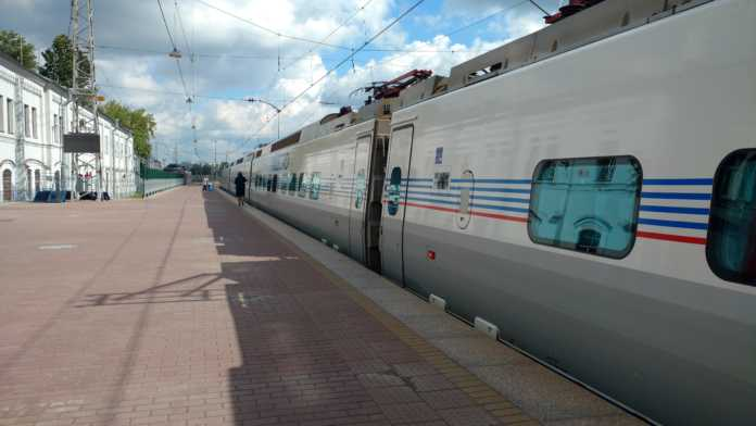 Trem São Petersburgo - Helsinki