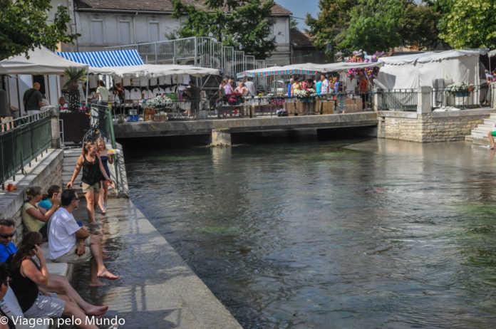 Isle-sur-la-Sorgue feira