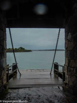 Fortaleza de Suomenlinna desde Helsinque, Finlândia, Viagem pelo Mundo blog