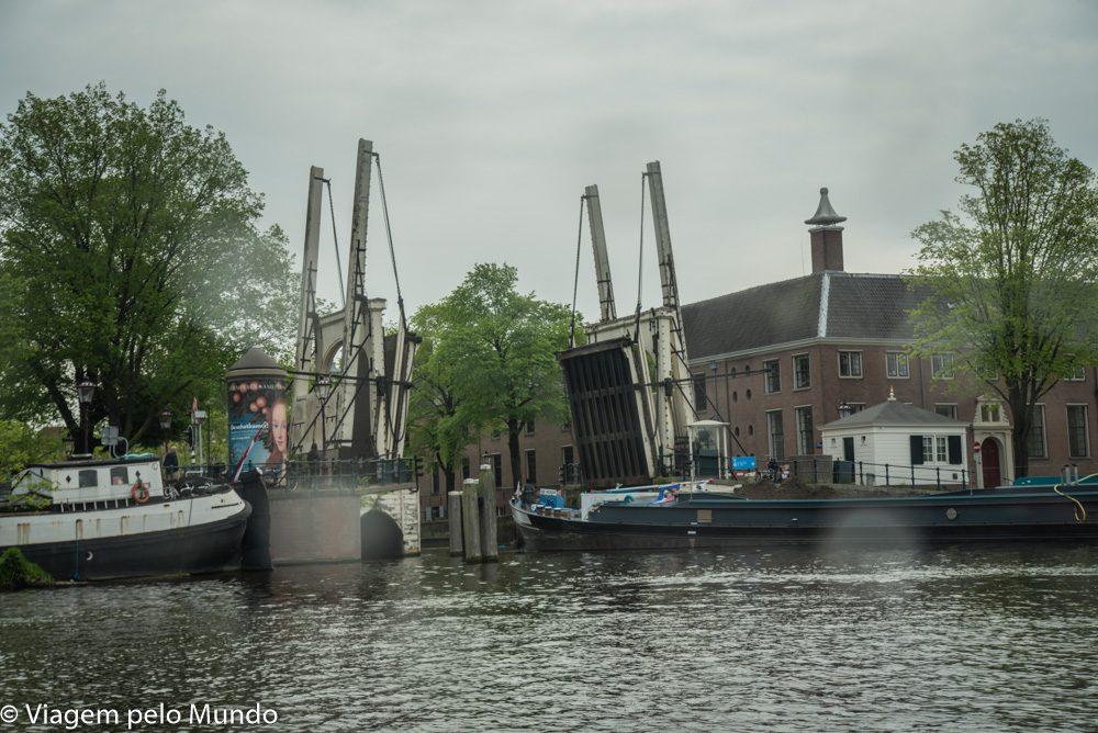 Passeio barco canal Amsterdam
